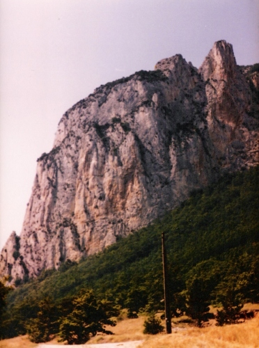 Photo 1 - Saou mountain outcrop