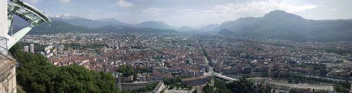 Photo 1 - View over Grenoble from the Bastille