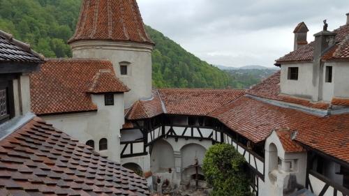 Dracula's courtyard