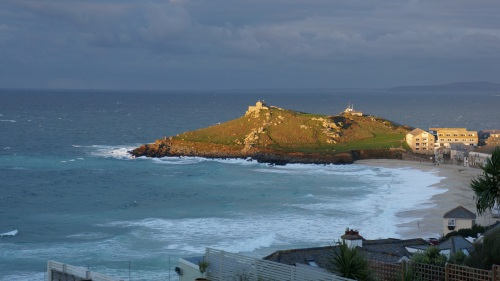Early sun over Porthmeor