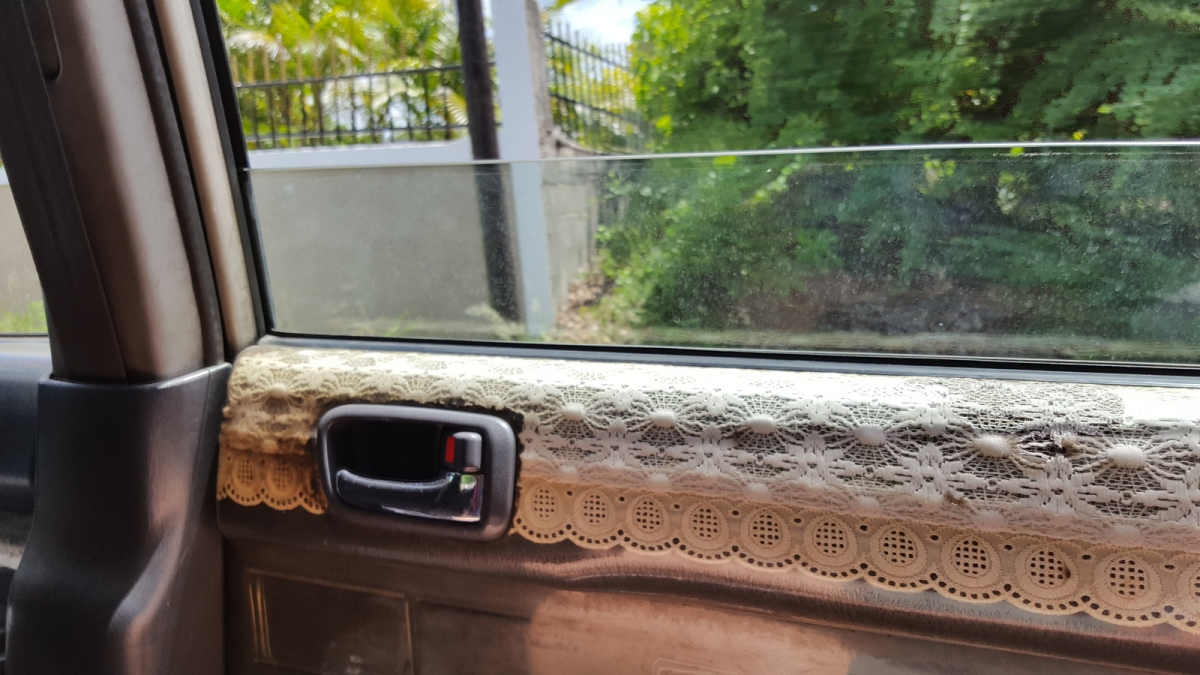 Interior trim lovingly repaired!