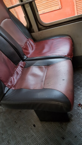 Make do and mend – no need to replace these bus seat covers yet