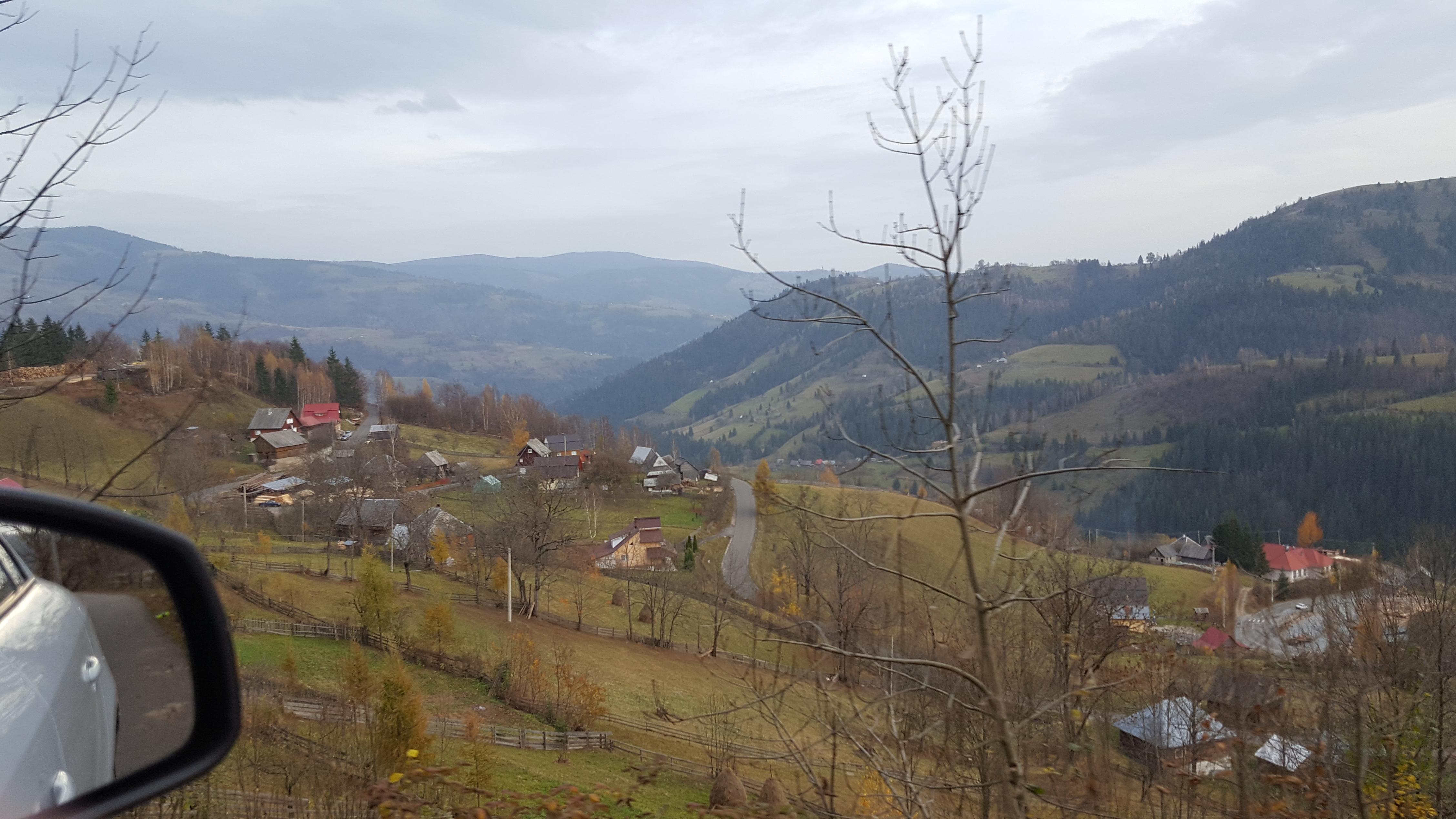 Ascent into the Carpathians