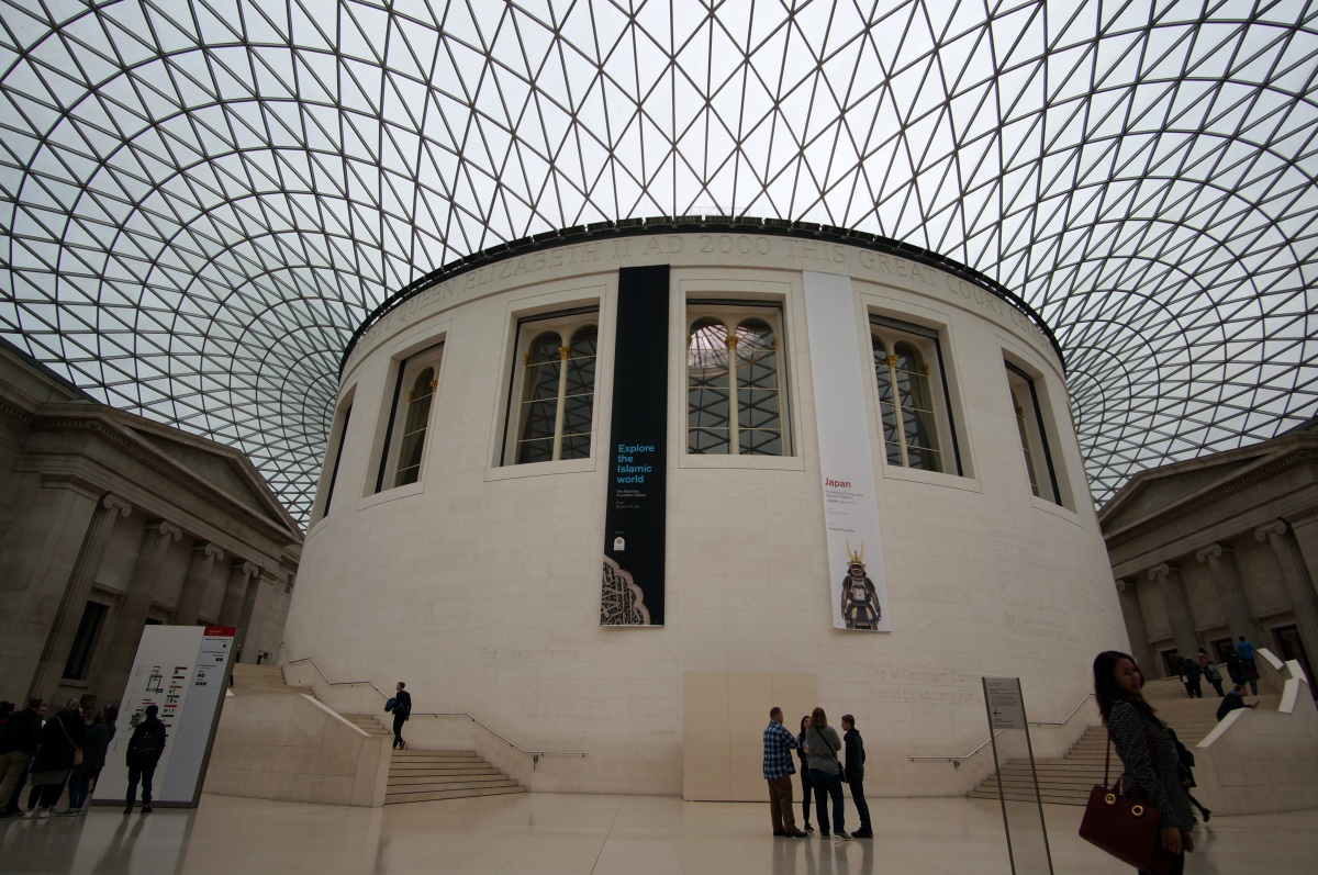 The rather impressive British Museum